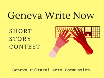 Geneva Write Now Contest Cultural Arts Commission