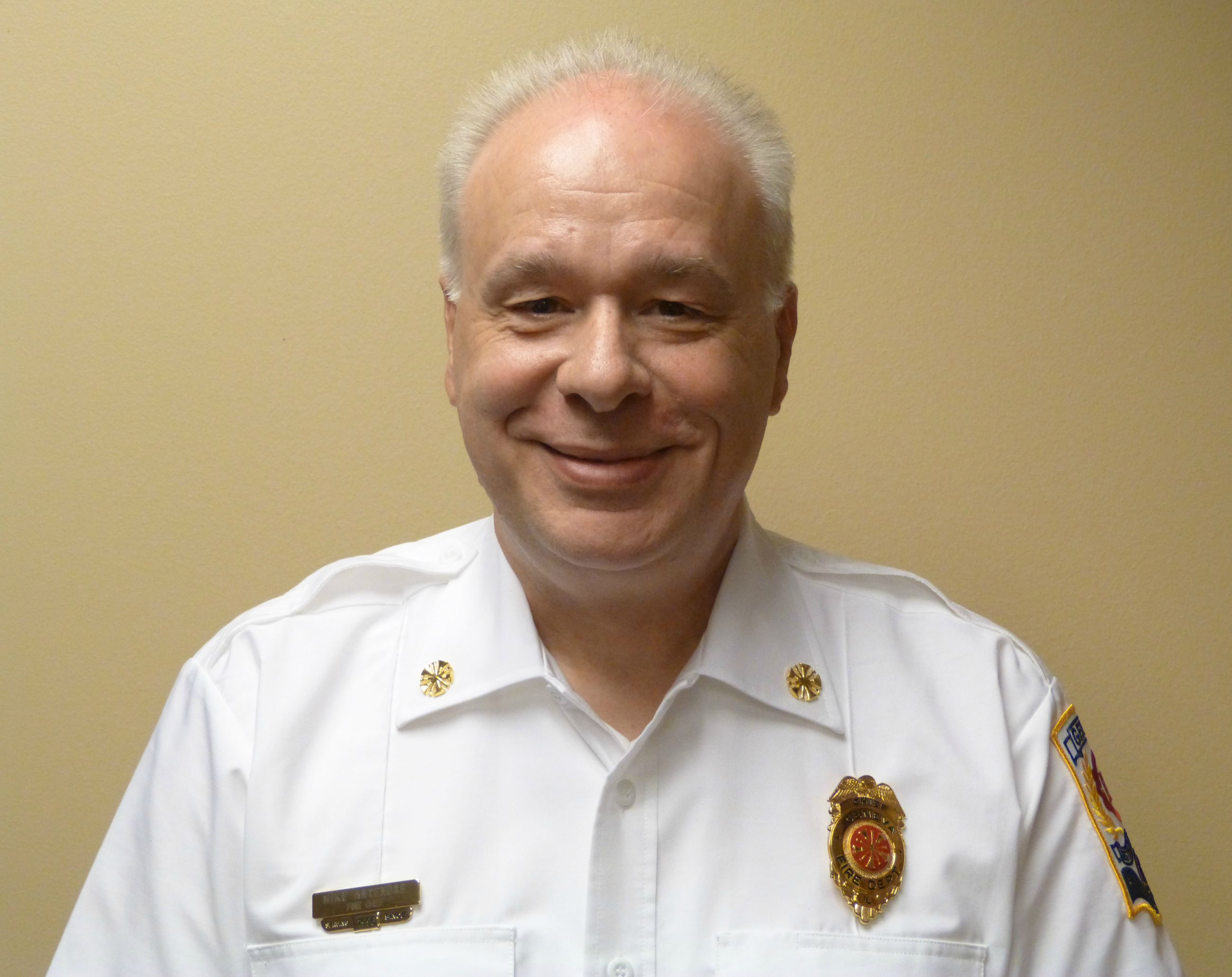 Fire Chief Mike Antenore portrait