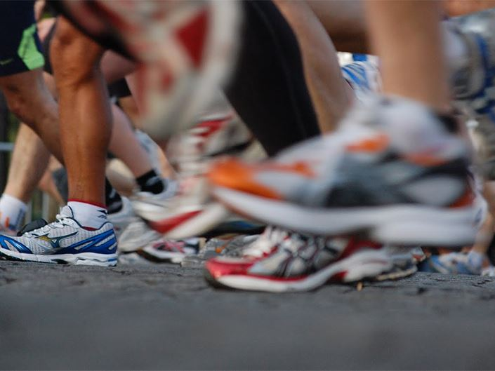 Shoes Marathon Race