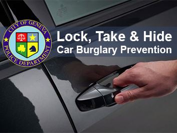 Police Lock Your Car Doors