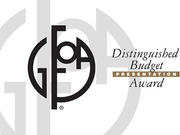 Distinguished Budget Presentation Award