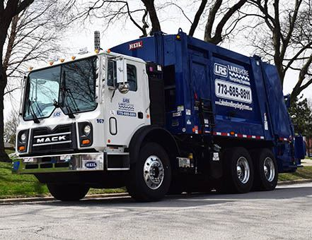 Lakeshore Recycling Garbage Truck
