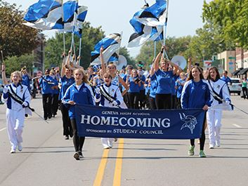 Homecoming Parade Geneva High School