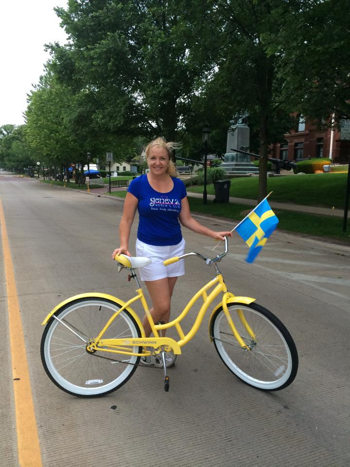 Swedish bike - Kim Byrne