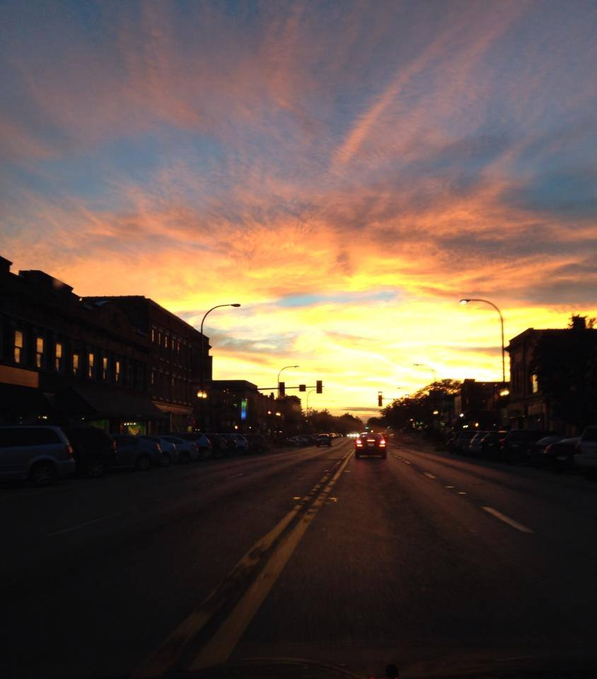 State Street Sunset - Sarah Jane Franklin