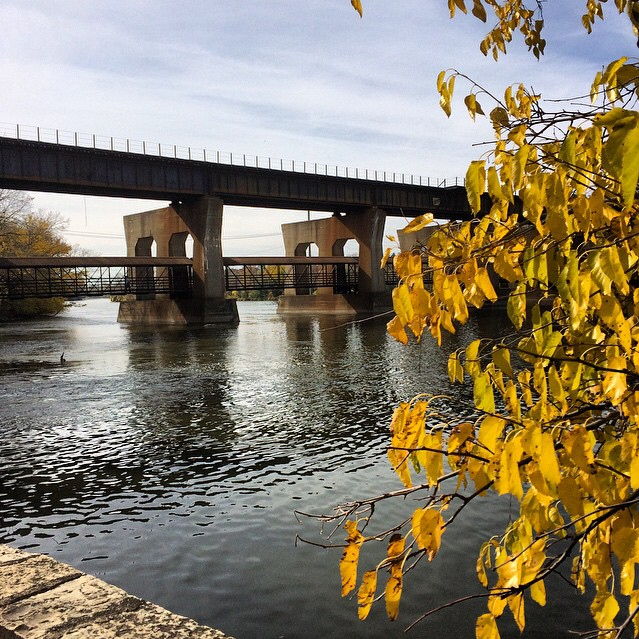 Fall and the Fox River - Eric Anson