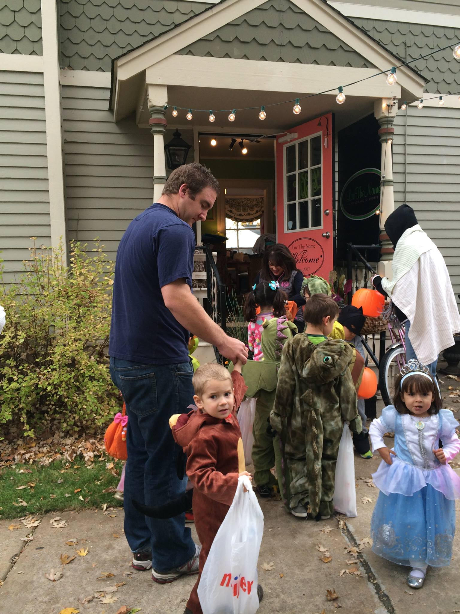 Downtown Trick or Treating - Kim North Byrne