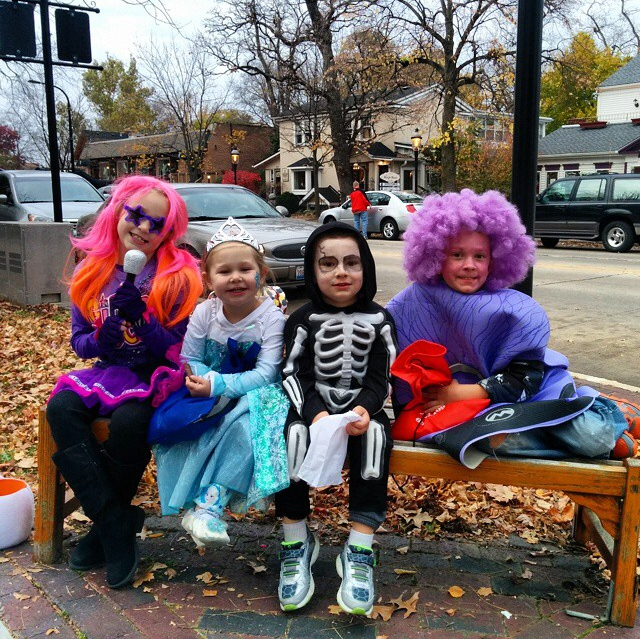 Downtown Trick or Treating - Jamie Saam