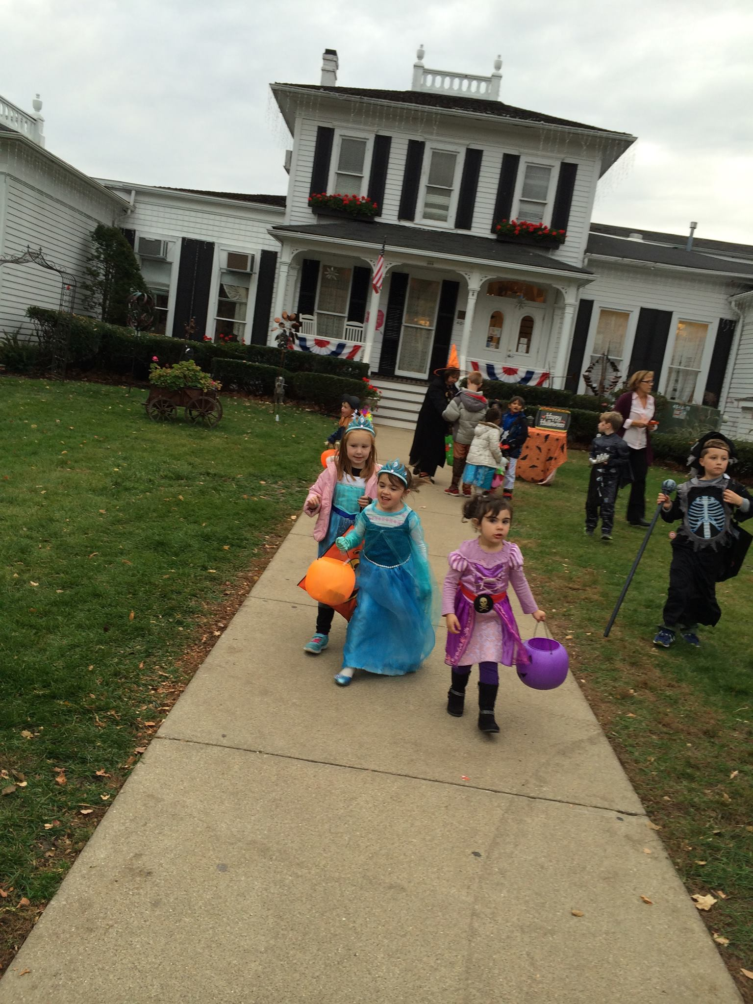 Downtown Trick or Treating - Julie Hughes