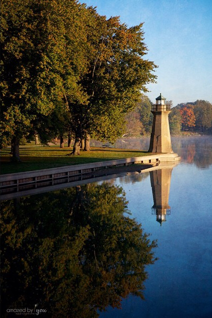 Fox River Lighthouse - Sue Braunsky - Amazed by You Photography