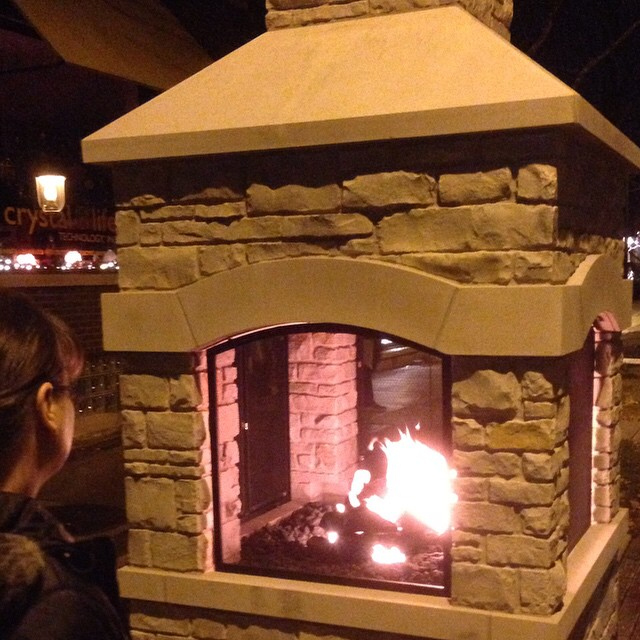 Community Fireplace - Chris Stayer