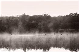 Early morning fog and steam on the Fox River - Sue Braunsky (Amazed by You Photography)