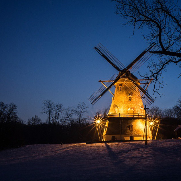 The Fabyan Windmill - Mathias Uhnnohn