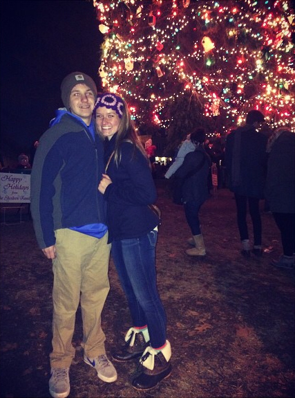 Christmas Tree Couple - Camryn Weitzel