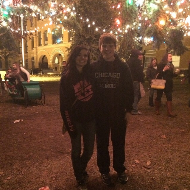 Christmas Tree Couple - Emily Browere