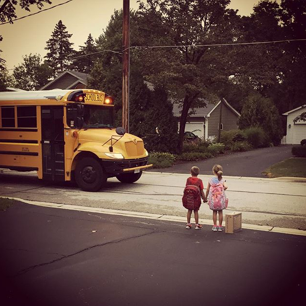 First Day of School - @lyndsaygruetzmacher