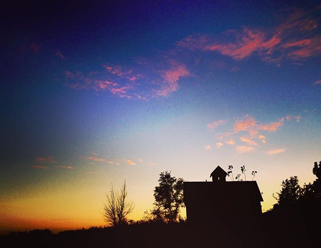 Peck Farm Sunset - @hann_e_ward