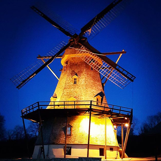 The Fabyan Windmill - @mamh2000