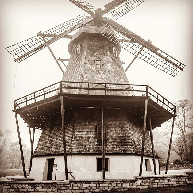 The Fabyan Windmill - @stufotog