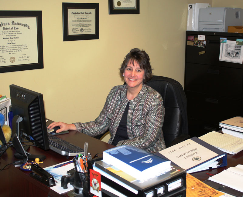 Assistant City Administrator Stephanie Dawkins