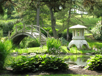 Japanese Garden at Fabyan Forest Preserve