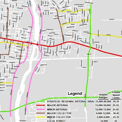 Functional Classification Street Map