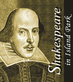Shakespeare in the Park logo