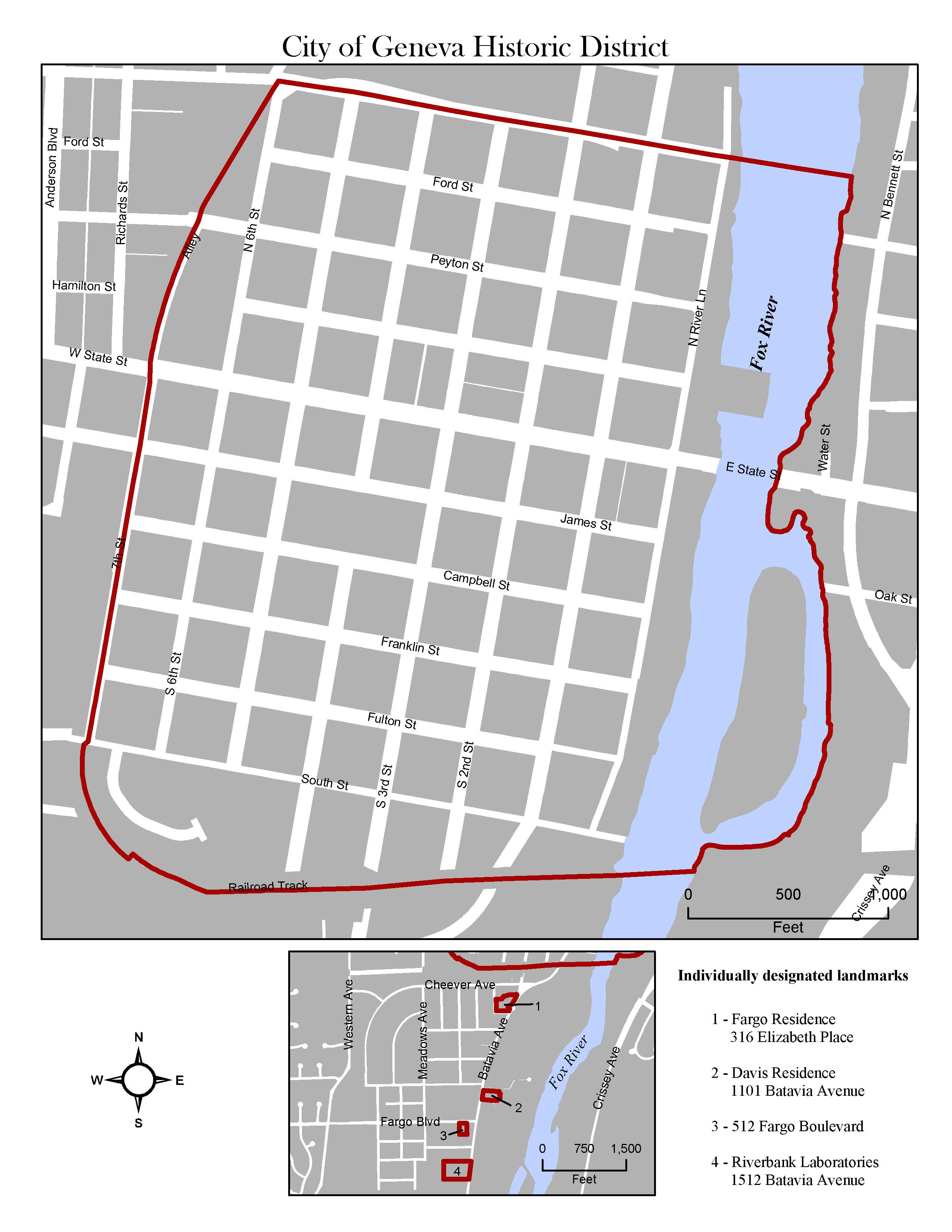 Historic District Boundary Map