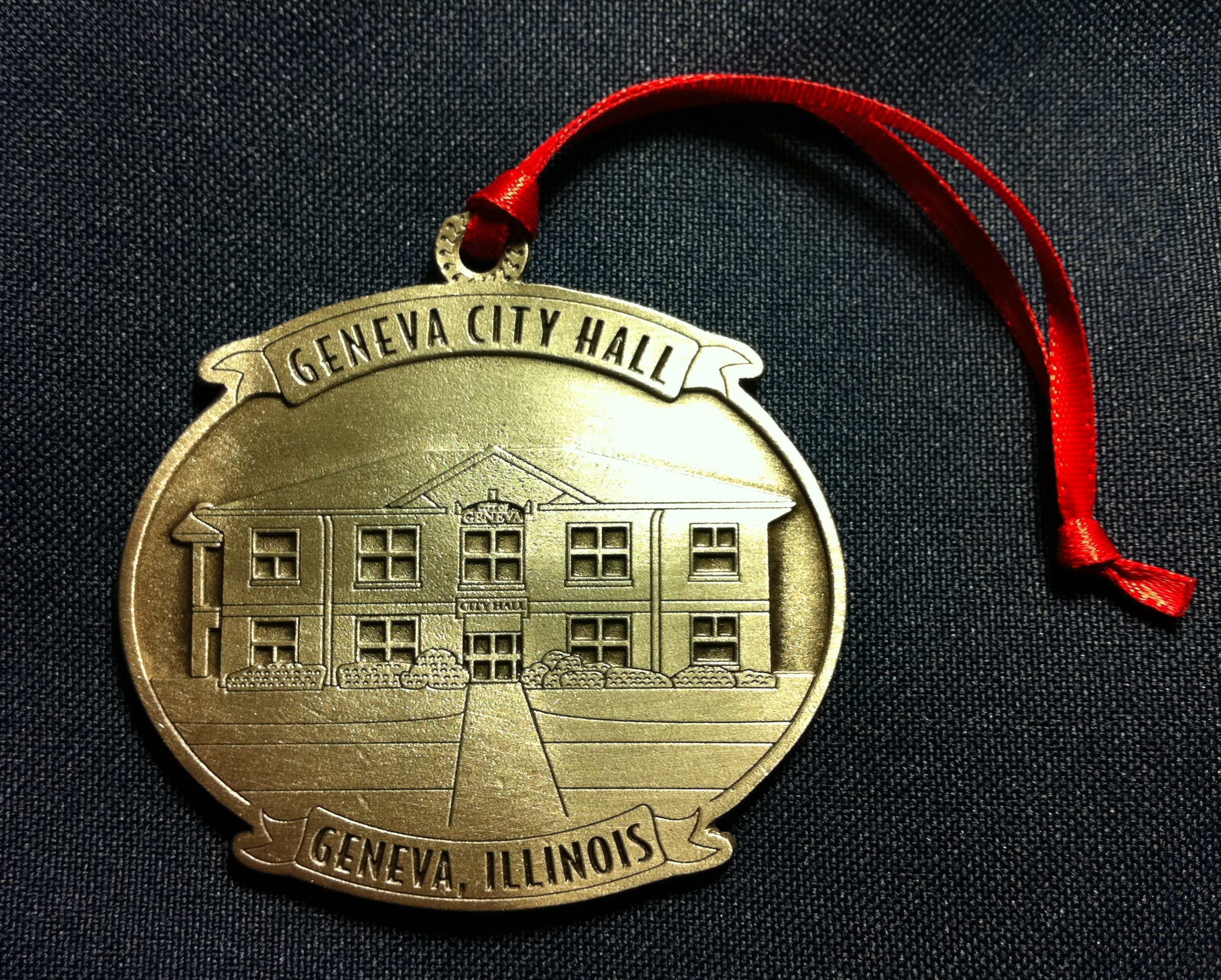 2012 Pewter Ornament